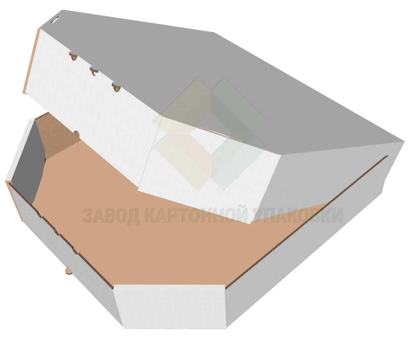 коробка для пирогов cg